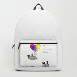 To be a Flying Penguin Backpack