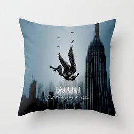 Fallen Angel Stay Throw Pillow