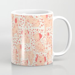 Cute Dalmatian Dog Illustration Coffee Mug