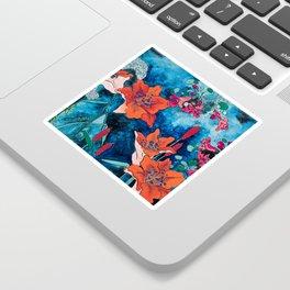Blooming Night Garden: Twilight Sticker