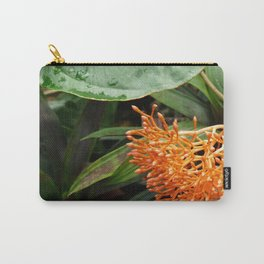 Orange Buddha Belly Plant Carry-All Pouch