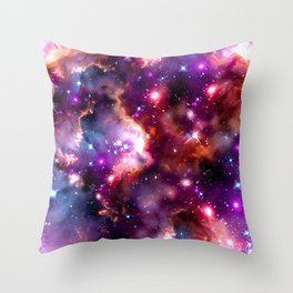 Nebula texture #41: Squire Throw Pillow