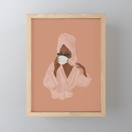 Treat Yourself Framed Mini Art Print