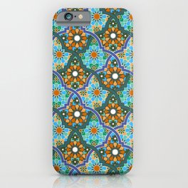 Moroccan pattern iPhone Case