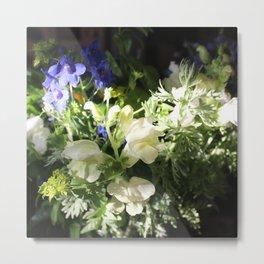 Gentle Flowers Metal Print