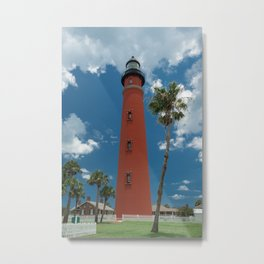 Ponce de Leon Misquito Inlet Tallest Lighthouse in Florida Metal Print