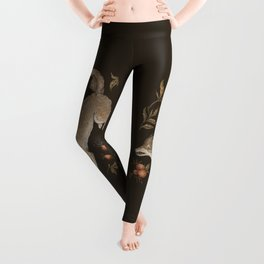 The Wolf and Rose Hips Leggings