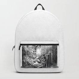 Frankenstein's Laboratory  Backpack