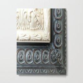 Picture Frame Moulding Detail Metal Print