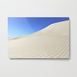 Tiny Human Big World | Fine Art Photo Metal Print