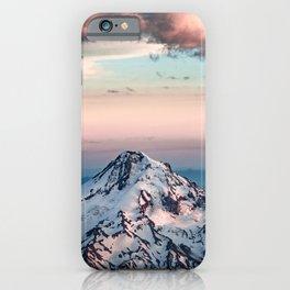 Mountain Sunset - Nature Photography iPhone Case