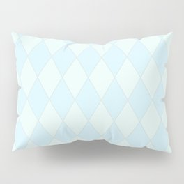 Blue Diamond Harlequin Pillow Sham