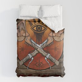 Borderlands Psycho Buzz Axe Comforters