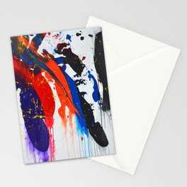 Landslide In Threes Stationery Cards
