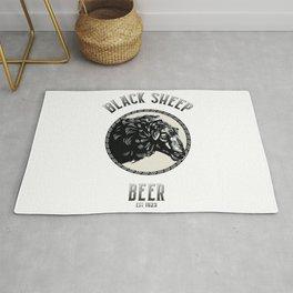 Black Sheep Beer Rug