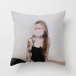 xxxtentacion Miss me Throw Pillow