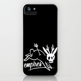 Empires Arrow Jackalope Print iPhone Case