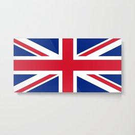 UK Flag, 3:5 Scale Metal Print