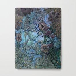 Gaian Forest Metal Print