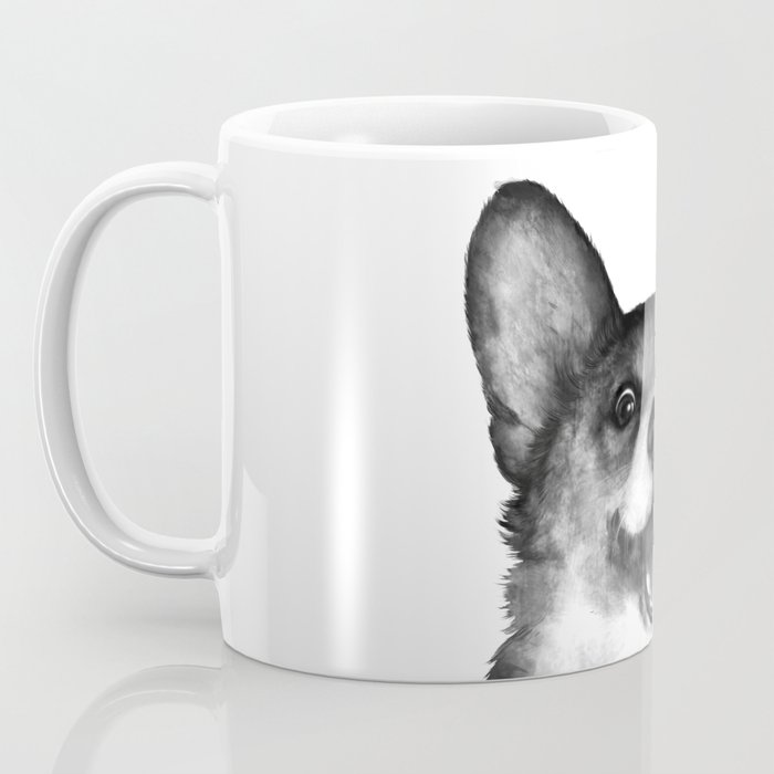 Corgi Kaffeebecher