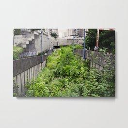 Envahi par la Végétation // Invaded by Vegetation Metal Print