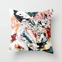 Someone dropped my painting Throw Pillow