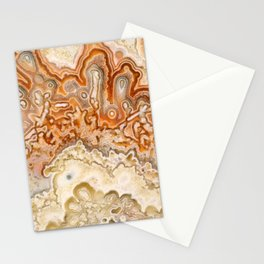 Crazy Lace Agate 2 Stationery Cards