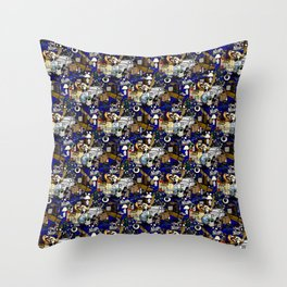 Stuff Tile 1 Throw Pillow