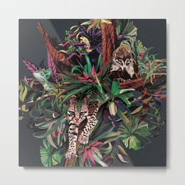 Rainforest corner Metal Print