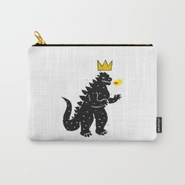 Jean-Michel Basquiat's Crown on Japanese Monster Carry-All Pouch