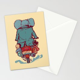 Crime In Progress Stationery Cards