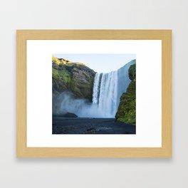 Skogafoss Framed Art Print