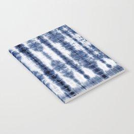 Tiki Shibori Blue Notebook