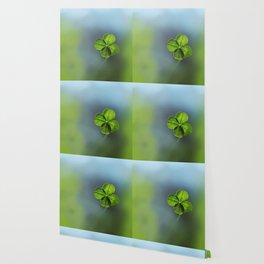 Lucky Four Leaf Clover Wallpaper