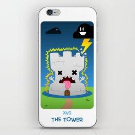 The Chibi Tarot - XVI The Tower iPhone Skin