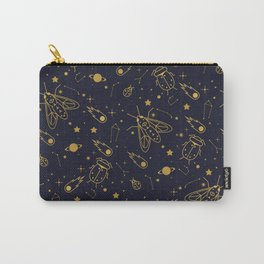 Golden Celestial Bugs Carry-All Pouch
