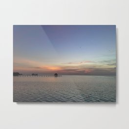 Beyond Peaceful Getaway Metal Print