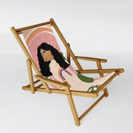 Rainbow Sweater Sling Chair