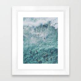 lets surf xx Framed Art Print