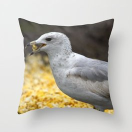 Popcorn Lover Throw Pillow