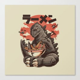 Kaiju's Ramen Leinwanddruck