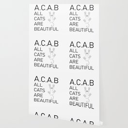 Acab Wallpaper For Any Decor Style Society6