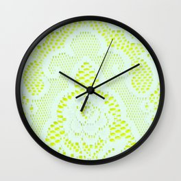 Neon Princess Wall Clock