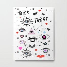 Trick or Treat Metal Print