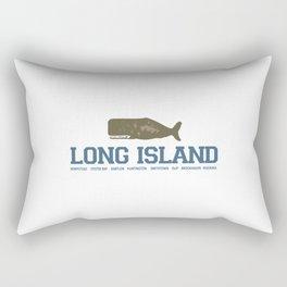 Long Island - New York. Rectangular Pillow