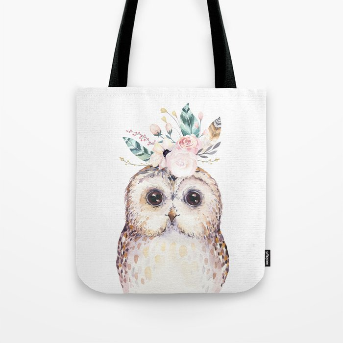 Forest Owl by Nature Magick Tote Bag
