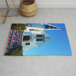 Easter Colored Church Steps Rug