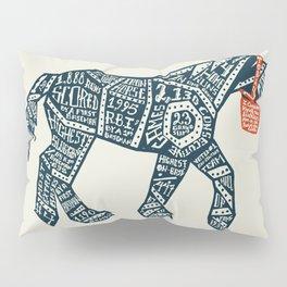 Iron Horse Pillow Sham