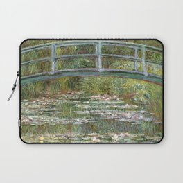Bridge over a Pond of Water Lilies by Claude Monet Laptop Sleeve