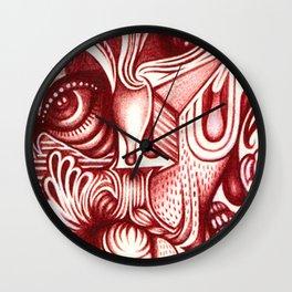 Sharp Senses & Soft Sensibilities Wall Clock